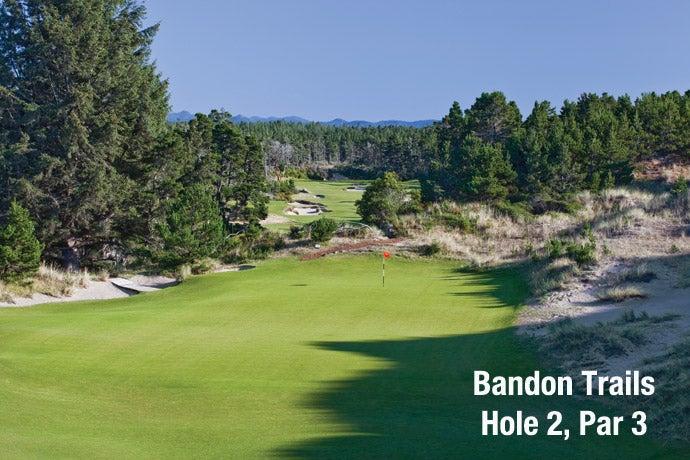 Bandon Trails: Hole 2, Par 3