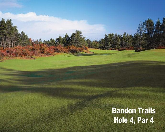 Bandon Trails: Hole 4, Par 4