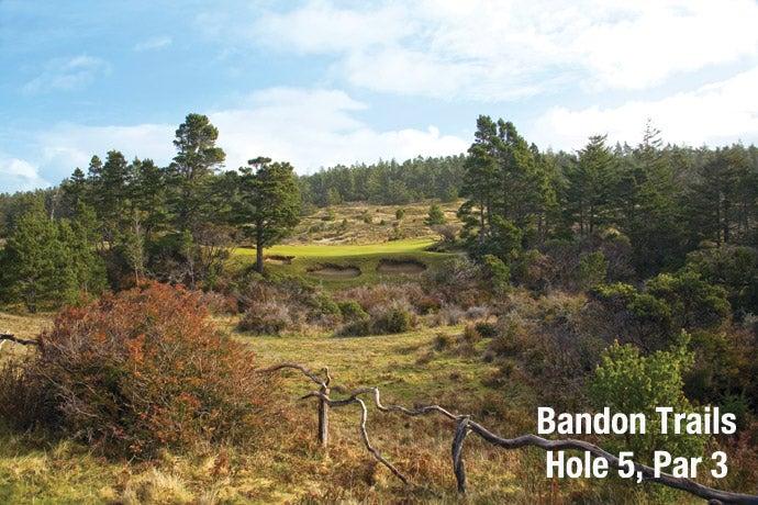 Bandon Trails: Hole 5, Par 3