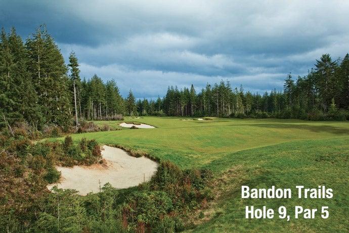 Bandon Trails: Hole 9, Par 5