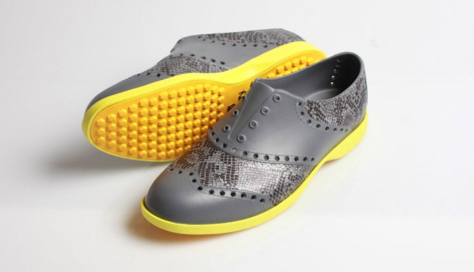 Biion Snake Patterned Shoes