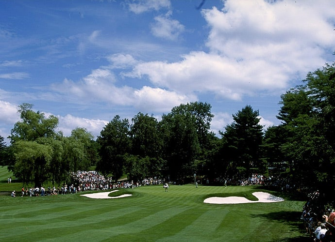 Westchester Country Club during the PGA Tour' s 2001 Buick Classic.