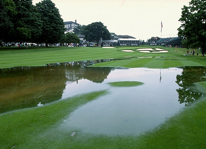 Another view of the course during the 2011 Buick Classic.