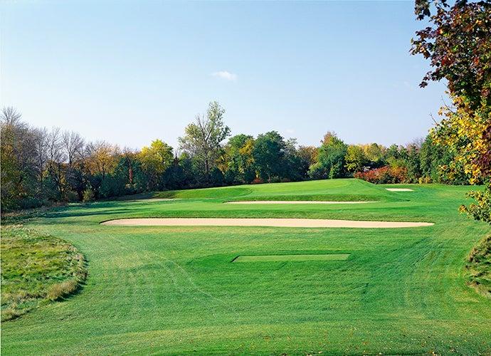 3. Chicago Golf Club, Wheaton, Ill.; 7th hole, 207 yards, par 3