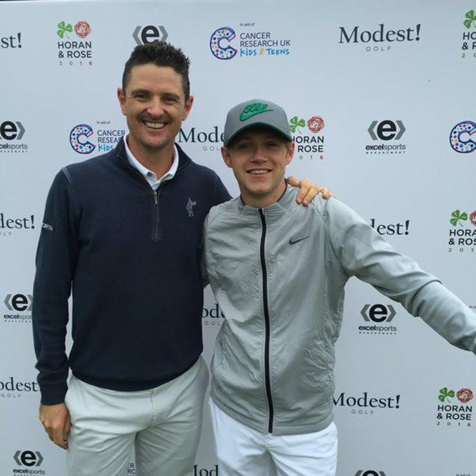 Justin Rose & Niall Horan
