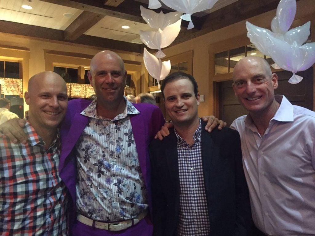 Ben Crane, Stewart Cink, Zach Johnson & Jim Furyk