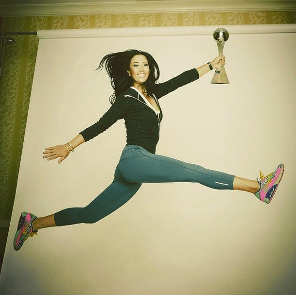 And I have to add...winning my first ESPY was prettttyyyy cool! #ESPYjump