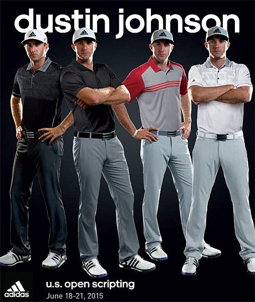 Dustin Johnson - Adidas