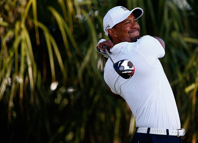 Woods' early season form was wildly inconsistent. On Saturday at the Honda Classic, he shot up the leaderboard into the top 10 with a 65, easily his best round of the season to that point.