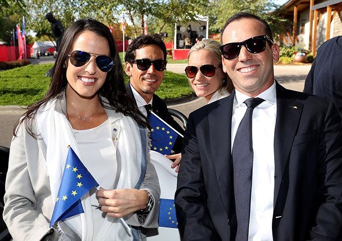 Angela Akins and Sergio Garic, Rafa Cabrera Bello and Sofia Lundstedt