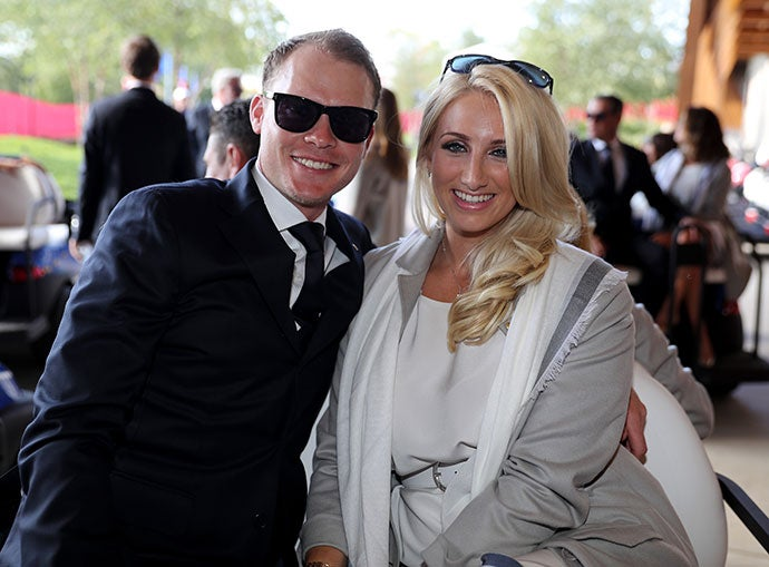 Danny Willett and Nicole Willett