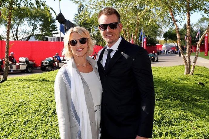 Henrik Stenson and Emma Stenson