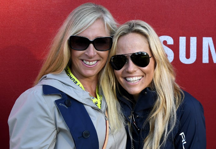 Caroline Harrington and Amy Mickelson