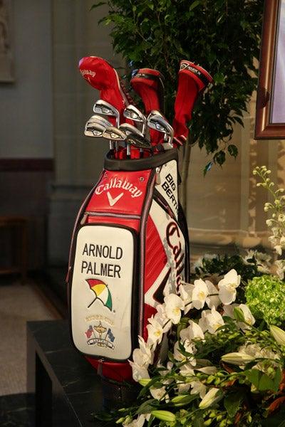 Arnold Palmer Memorial Service