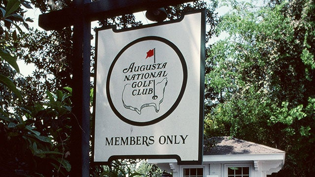 Augusta National Masters Sign For Only 18 987