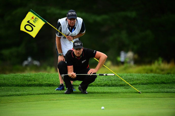 Henrik Stenson shot a 71 in the final round to finish six shots behind Walker.