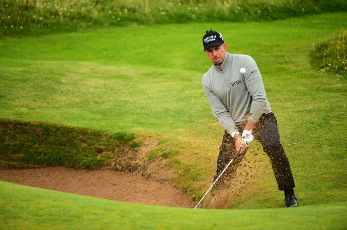 Stenson will carry a one-shot lead into the final round of the Open.