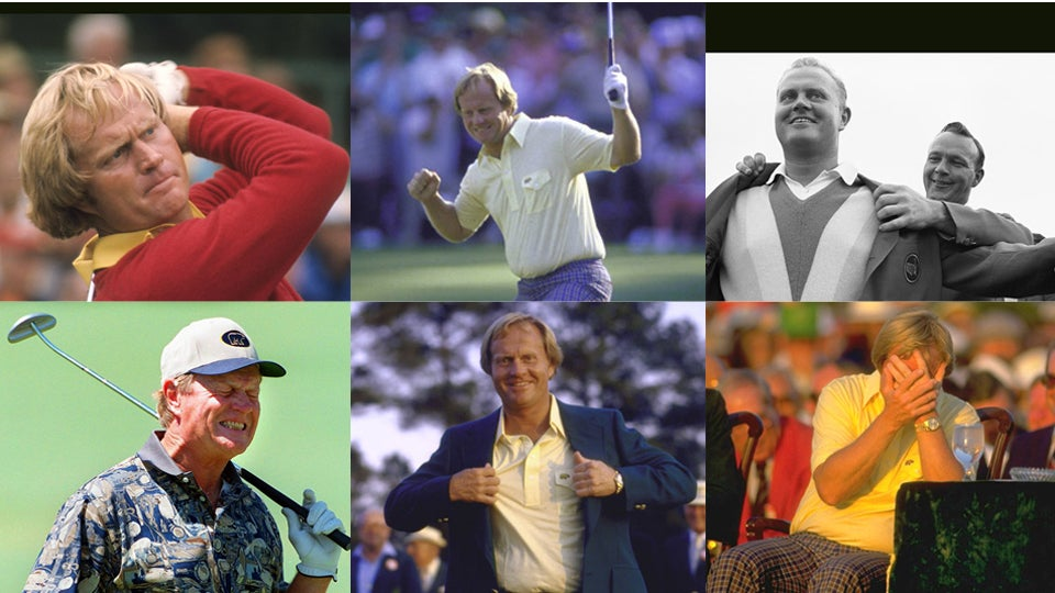 Jack Nicklaus' 1960s Swing Sequence