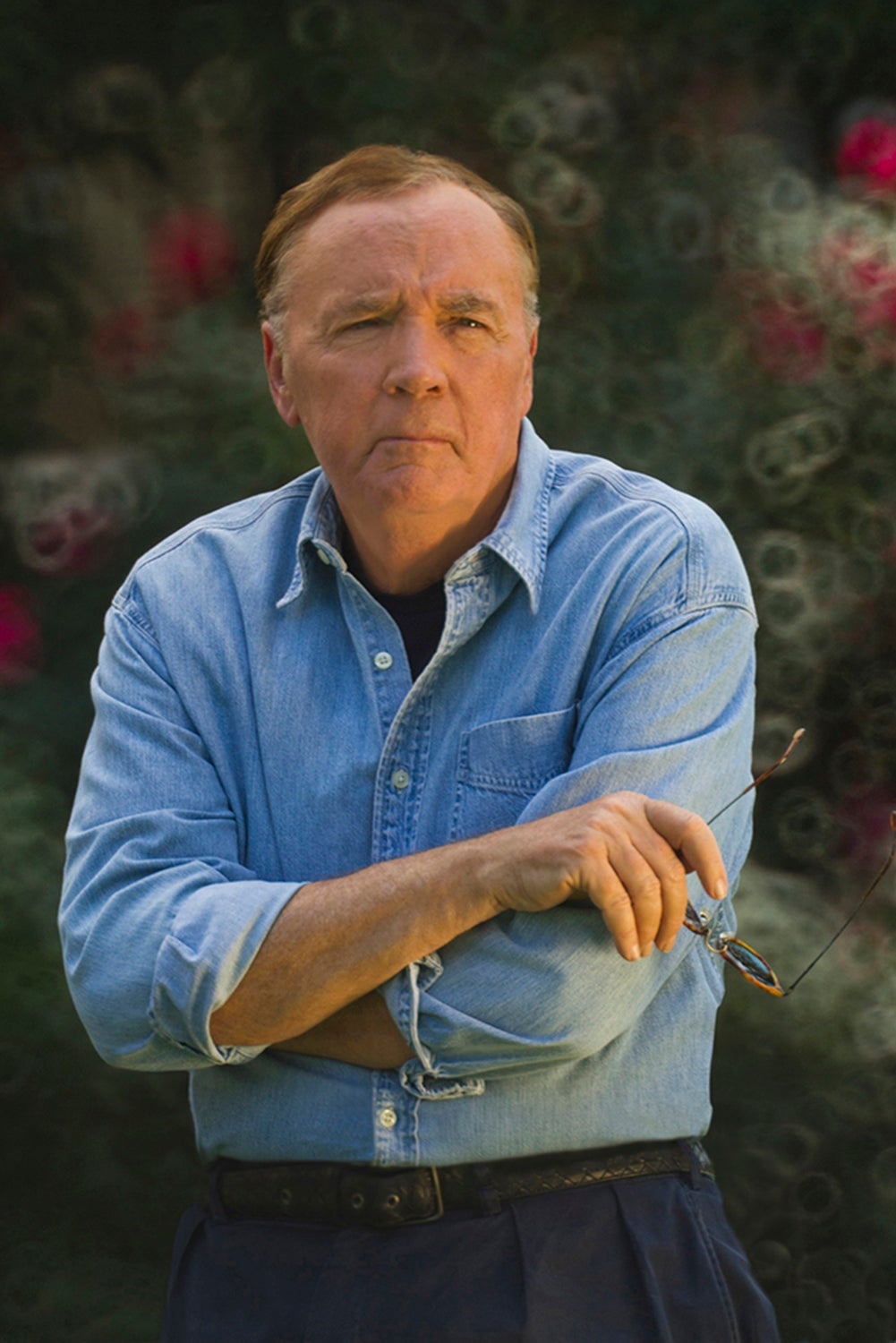 james patterson on the tee