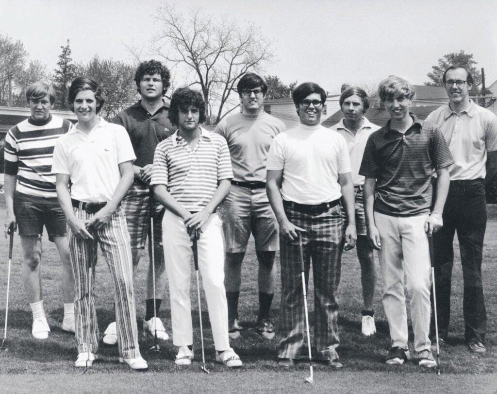 Jim Boeheim Coached the Syracuse Golf Team