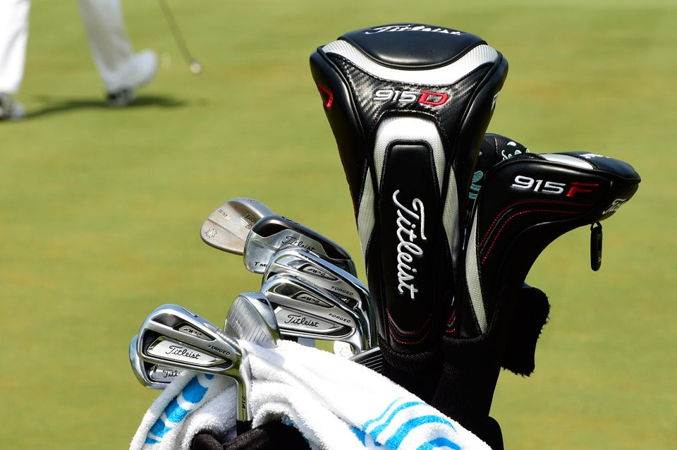 Tour Customs Pros Bags At The 2017 Players Championship