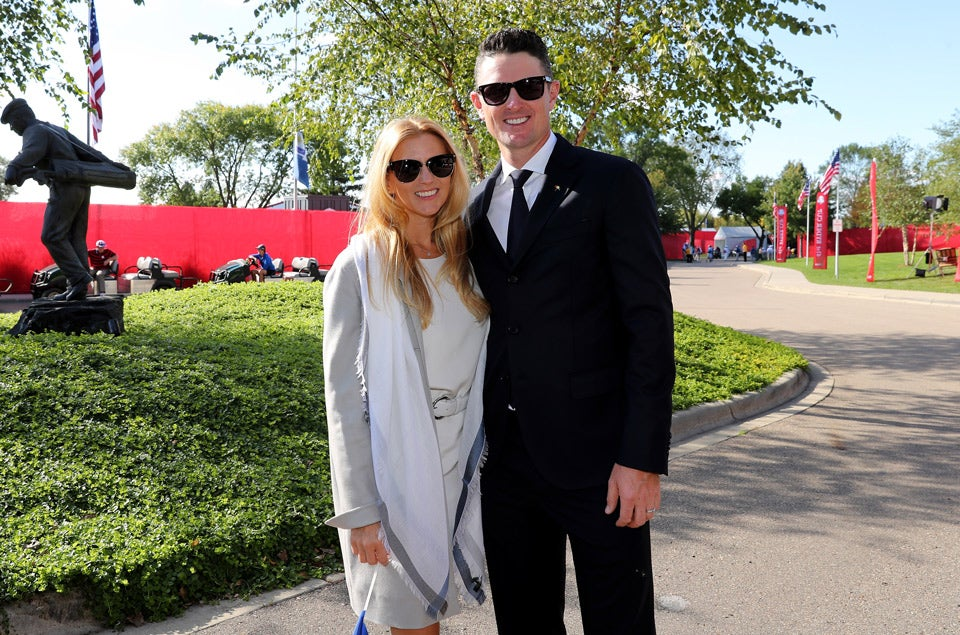 Kate and Justin Rose.
