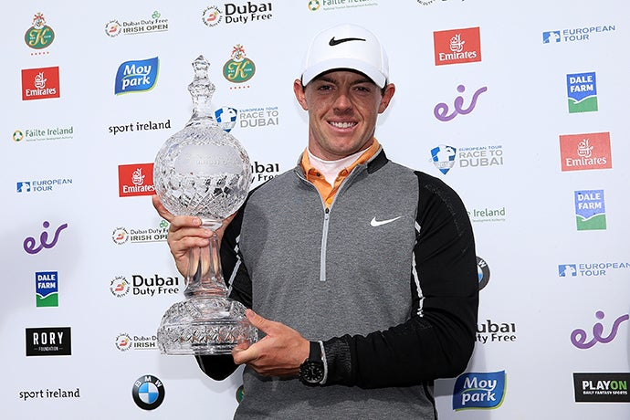Dreams do come true. Tournament host Rory McIlroy wins his national open in stunning fashion.