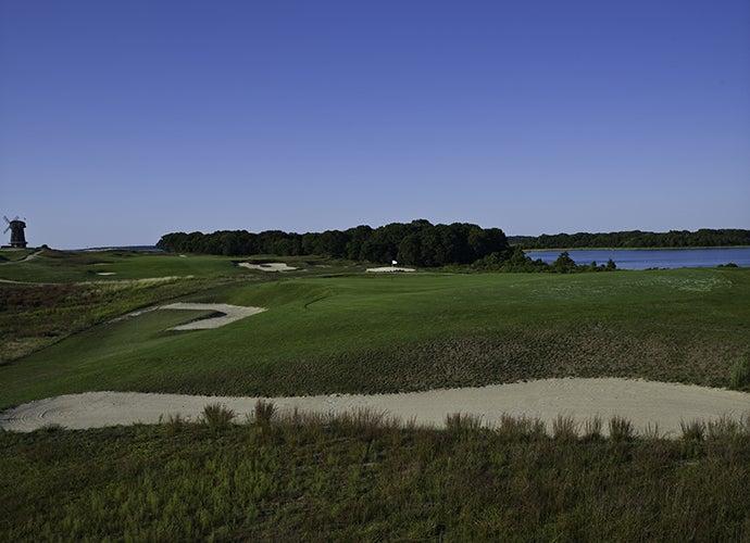 1. National Golf Links of America, Southampton, N.Y.; 4th hole, 195 yards, par 3