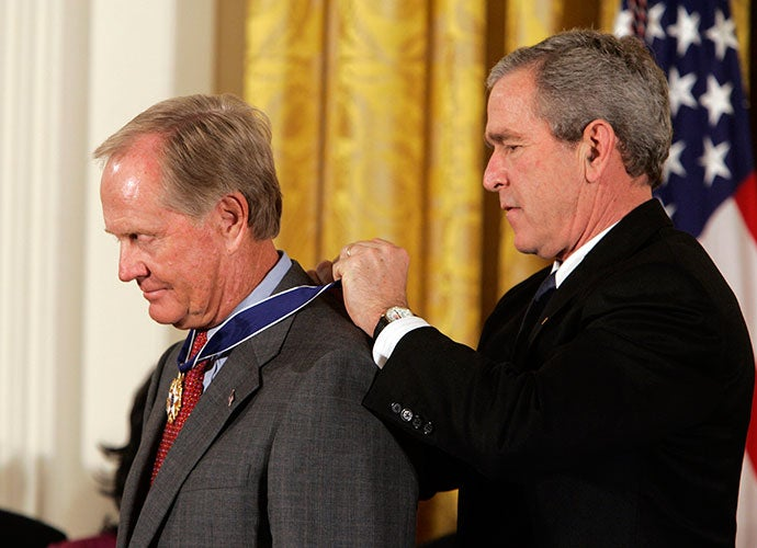Jack Nicklaus, George W. Bush