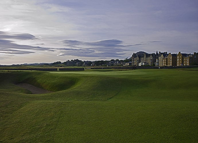 2. North Berwick Golf Club (West Links), North Berwick, Scotland; 15th hole, 190 yards, par 3