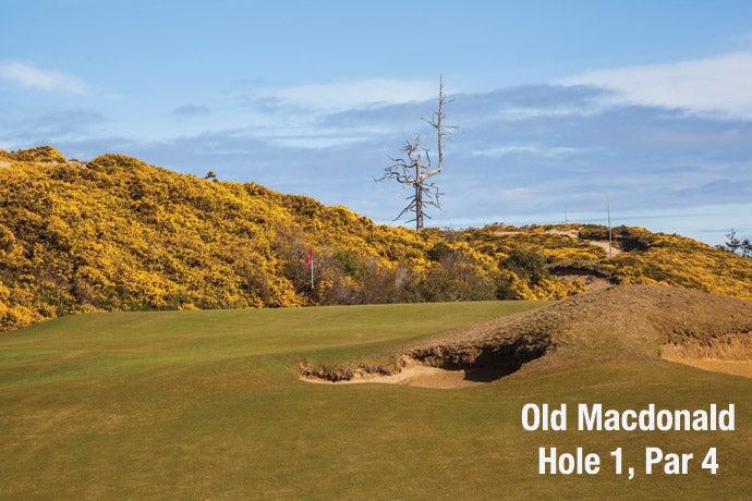 Old Macdonald: Hole 1, Par 4