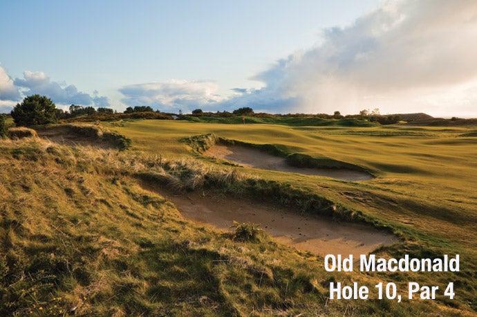 Old Macdonald: Hole 10, Par 4
