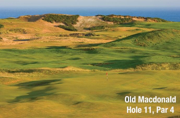 Old Macdonald: Hole 11, Par 4