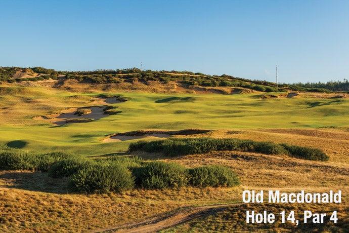 Old Macdonald: Hole 14, Par 4