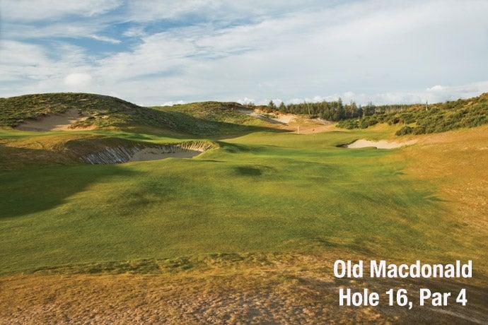 Old Macdonald: Hole 16, Par 4