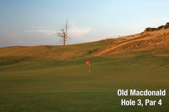 Old Macdonald: Hole 3, Par 4