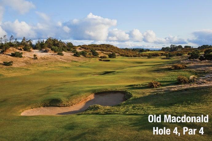 Old Macdonald: Hole 4, Par 4