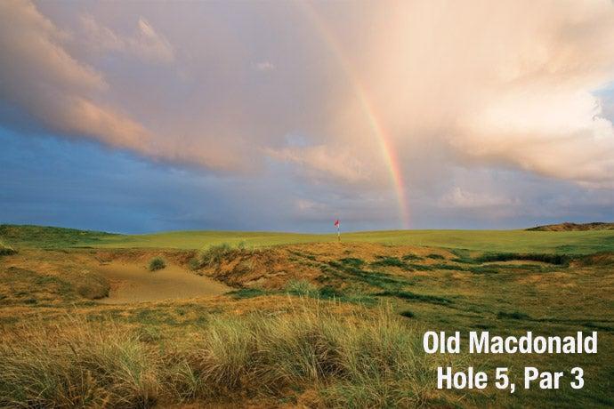 Old Macdonald: Hole 5, Par 3