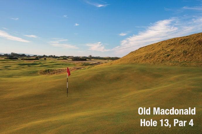 Old Macdonald: Hole 13, Par 4