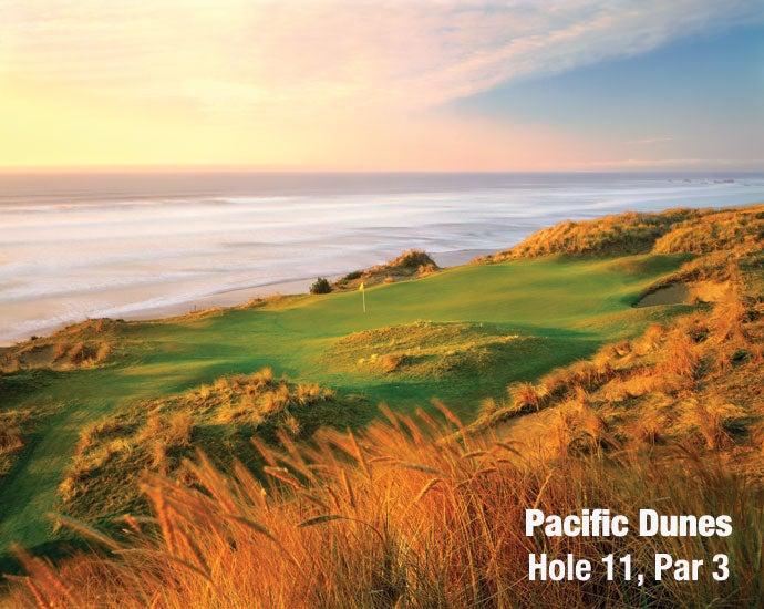 Pacific Dunes: Hole 11, Par 3