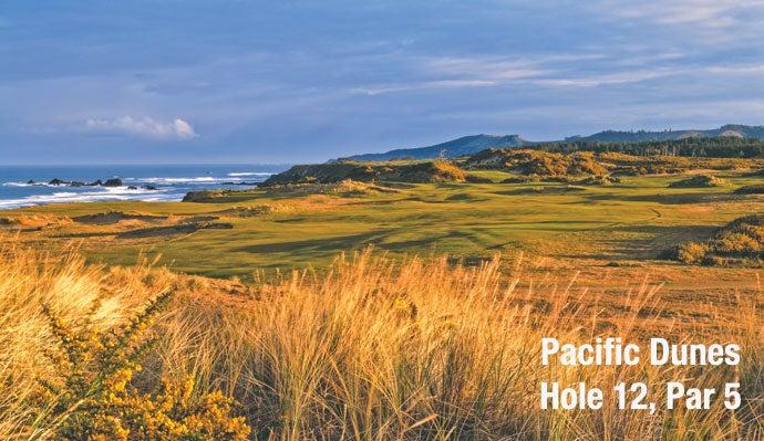 Pacific Dunes: Hole 12, Par 5