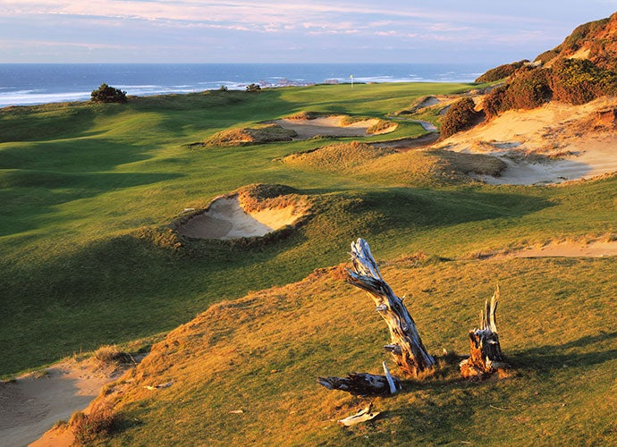 4. 13th Hole, Pacific Dunes, Bandon, Ore.; par 4, 444 yards