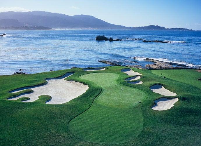 BEST: Pebble Beach Golf Links, Pebble Beach, Calif. -- AT&T Pebble Beach Pro-Am