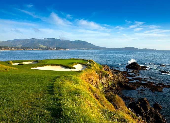 2. Carmel / Monterey, Calif. (Pictured: Pebble Beach Golf Links)