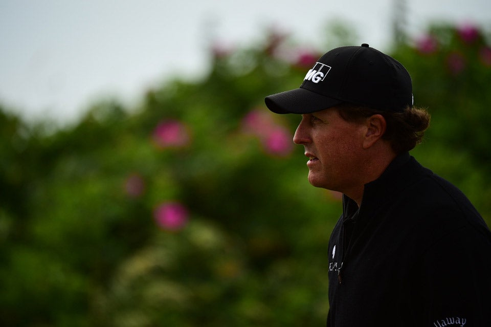Mickelson won the Open Championship in 2013.