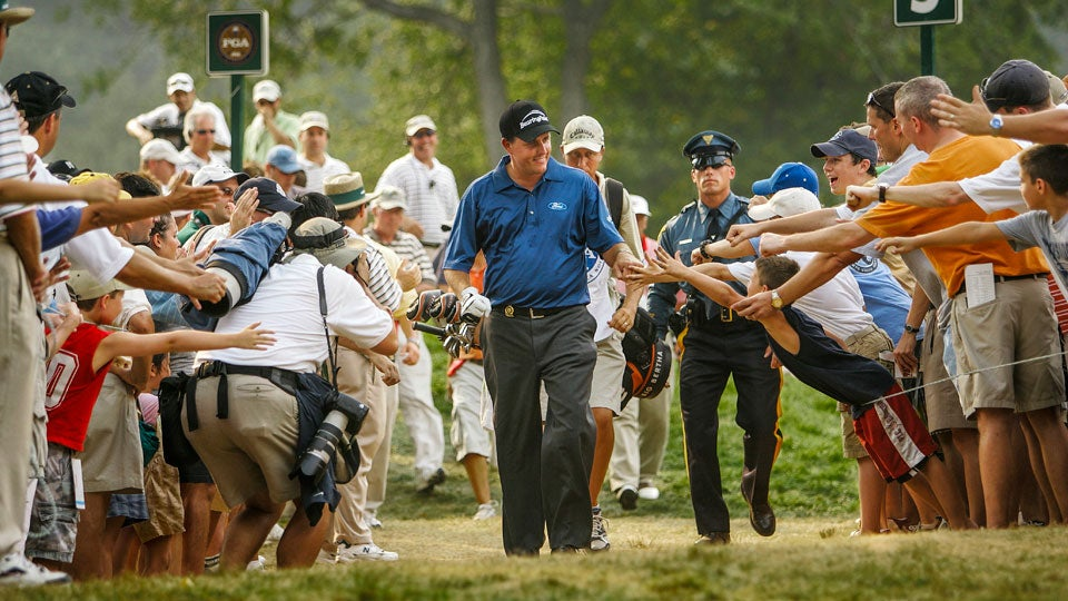 7. Phil Mickelson's Flop Shot