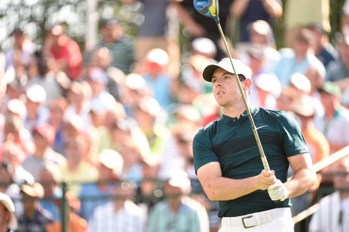 Rory McIlroy struggled on day 1 of the PGA Championship, shooting a four-over 74.