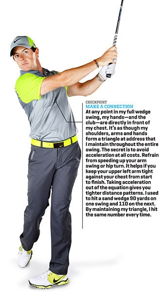 Rory McIlroy: Wedge It Close with Your Body