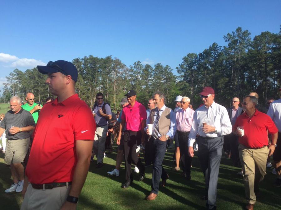 Tiger Woods & David Feherty