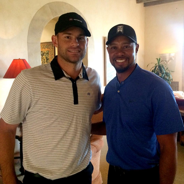 Tiger Woods & Andy Roddick